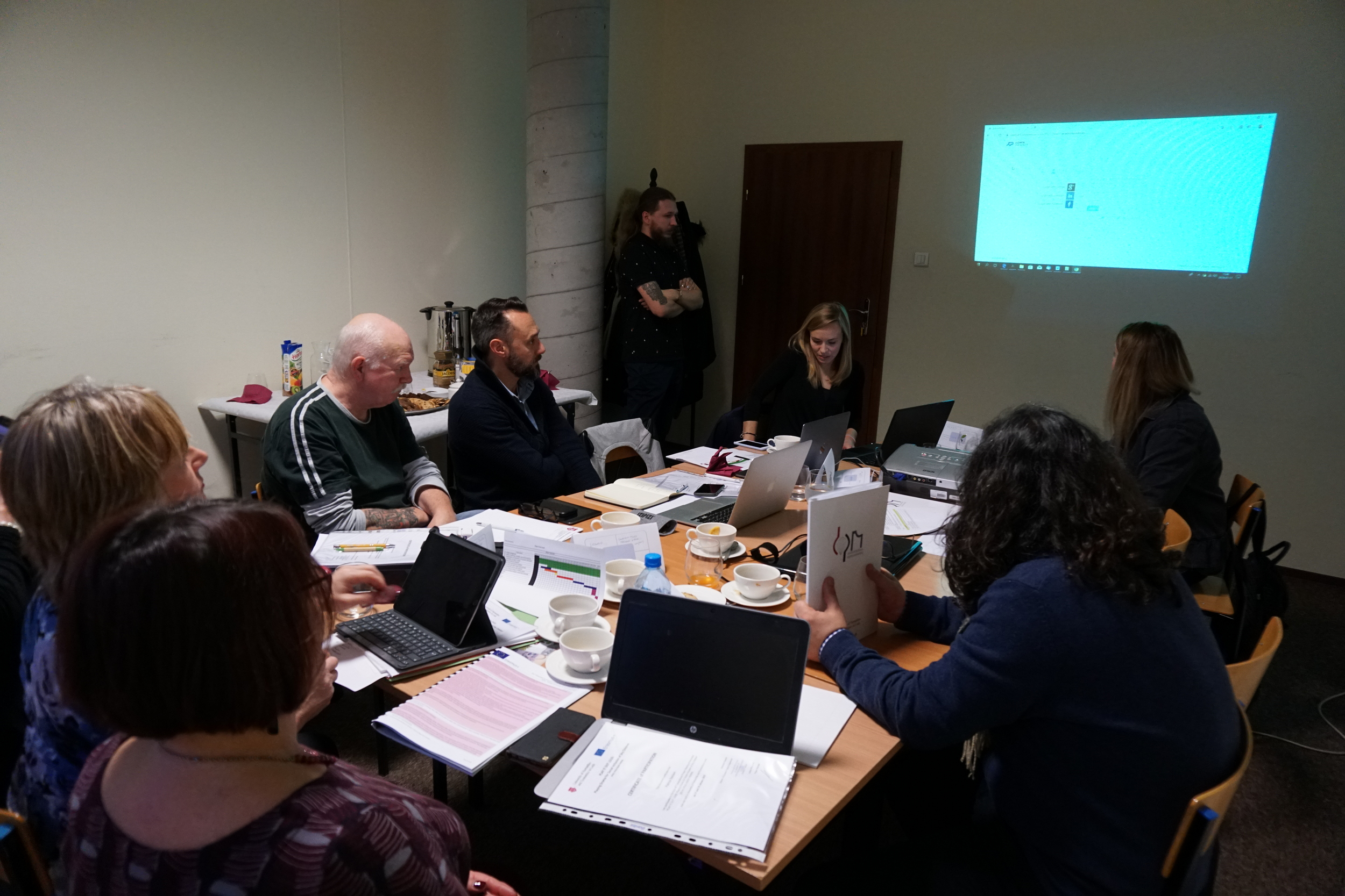 Transnational Meeting in Lodz, Poland